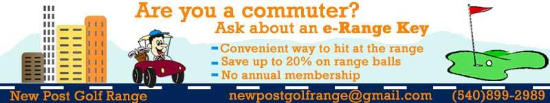 Do you commute? Get an e-Range key